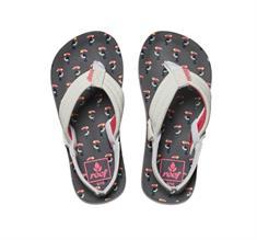 Reef LittleAHI t/m 33+hak meisjes sandalen wit