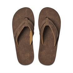 Reef Marbea heren slippers middenbruin