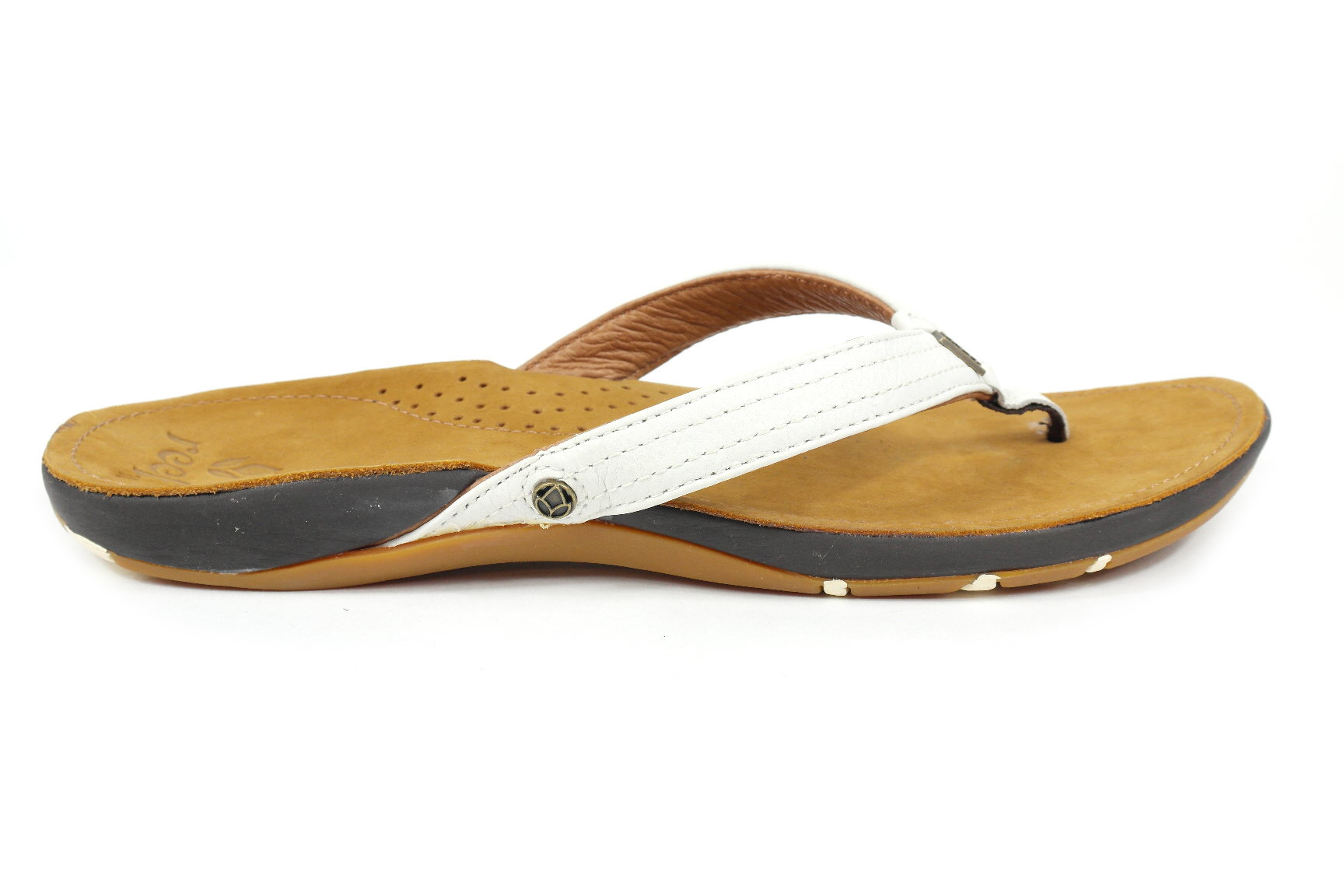 52a79568659 Reef Miss J-Bay dames slippers wit van slippers & sandalen