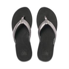 Reef Miss J-Bay dames slippers zwart