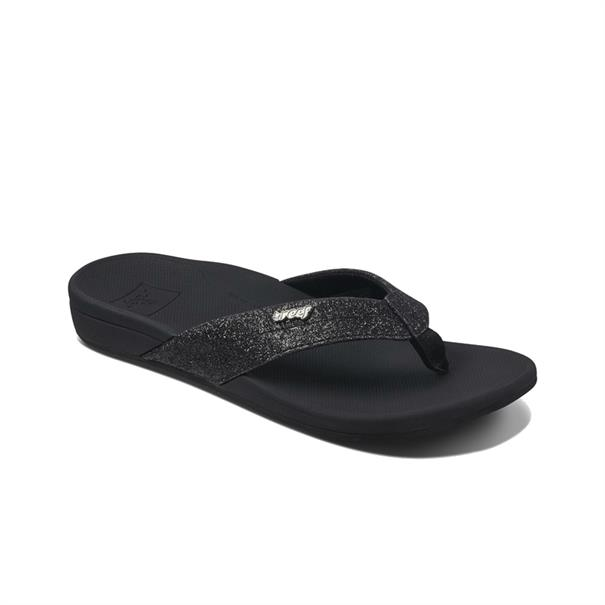 Reef Ortho Spring dames slippers zwart