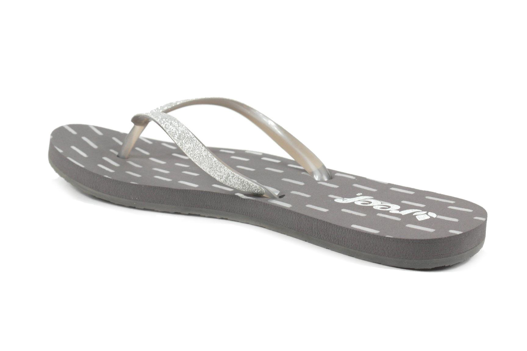 886fa95ac7bd Reef Stargazer Print Dames slippers grijs dessin - Slippers ...