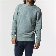 Revolution 2005 Sweat heren sweater groen dessin