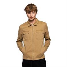 Revolution 7663 Shirt Jacket heren zomerjas khaki