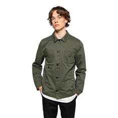 Revolution 7664 Shirt Jacket heren zomerjas donkergroen
