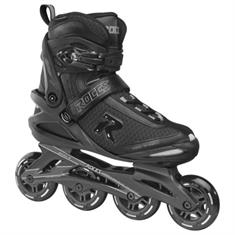 Roces Icon 80 Black Charcoal inline skates / skeelers zwart