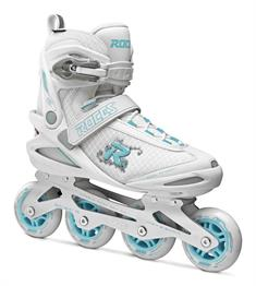 Roces Pic W 80 White Azure inline skates / skeelers wit