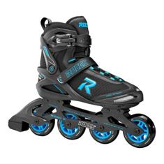 Roces Sign 80 Black Cyan inline skates / skeelers zwart