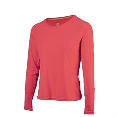 Rogelli Basic Dames Lange Mouw dames hardloopshirt pink