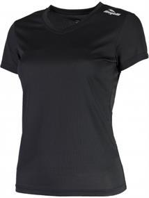 Rogelli Basic Dames T-Shirt dames hardloopshirt zwart