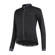 Rogelli Essential Jersey Lon Sleeve dames hardloopshirt lange mouwen zwart