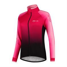 Rogelli Glow Winter Jacket dames dames fiets jack pink