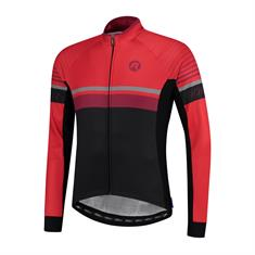 Rogelli Hero Lange Mouw heren wielershirt rood