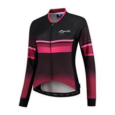 Rogelli Impress fiets shirt lange mouw dames roze
