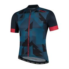 Rogelli KM Brisk heren wielershirt blauw