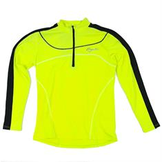 Rogelli Mels dames hardloopshirt lange mouwen geel