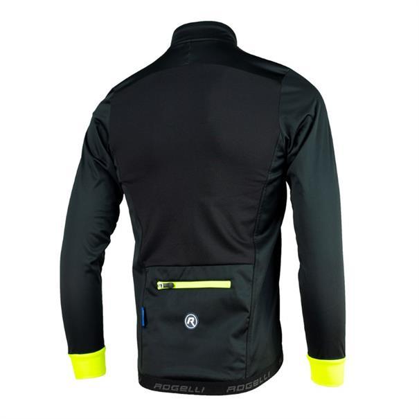 Rogelli Pesaro 2.0 heren fiets jack zwart