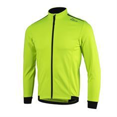 Rogelli Pesaro Lange Mouw heren fiets jack geel