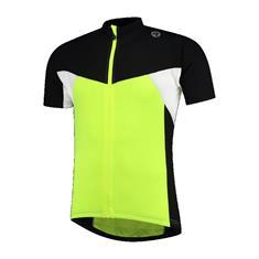 Rogelli Recco Junior 2.0 KM jr fiets shirt zwart