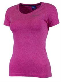 Rogelli Seamless Dames Tee dames hardloopshirt pink
