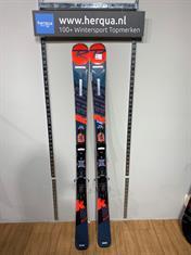 Rossignol 131-2957 React R6 Compact heren ski gebruikt rood