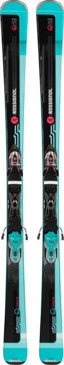 Rossignol Beste test famous 2 sport cave ski dames zwart