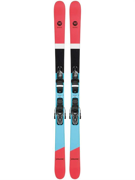 Rossignol Beste Test Sprayer incl.binding RRi 03SP twintip ski oranje