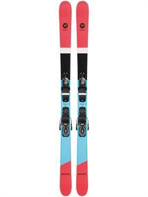 Rossignol Beste Test Sprayer incl.binding twintip ski oranje