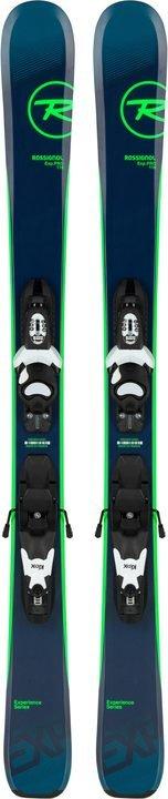 Rossignol Experience pro junior twintip ski blauw