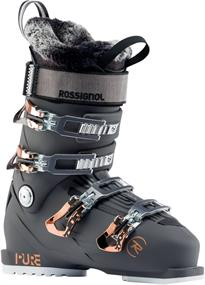 Rossignol Pure Pro 100 RBJ 2250 dames skischoenen antraciet