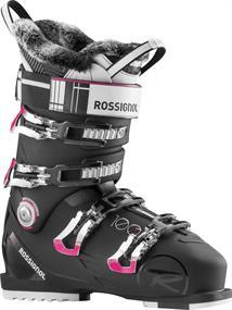 Rossignol Pure Pro 100+Marino dames skischoenen zwart