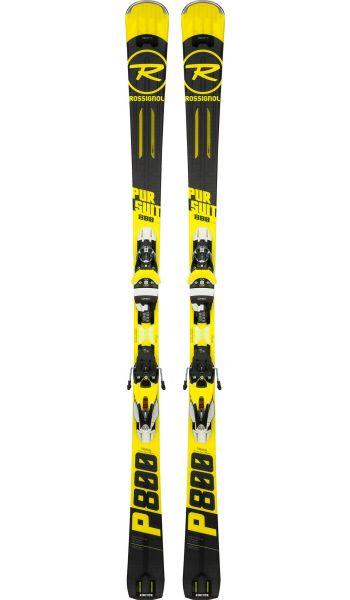 Rossignol Pursuit 800 sport carve ski geel