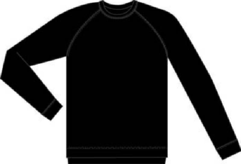 Rucanor Aspen Thermo Shirt heren thermoshirt zwart