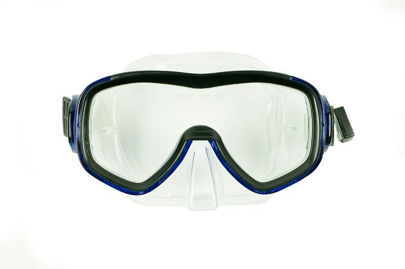 Rucanor Duikbril Praia SR. duikmasker blauw