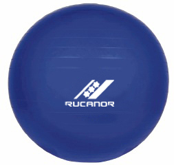 Rucanor Gym Ball 90 CM. gymbal blauw