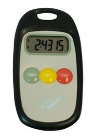 Rucanor Pedo Meter pedometer geel
