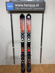 Salomon 16-2855 X-Wing Fury kinder ski gebruikt rood
