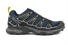 Salomon 371 613 ultra heren wandelsneaker zwart