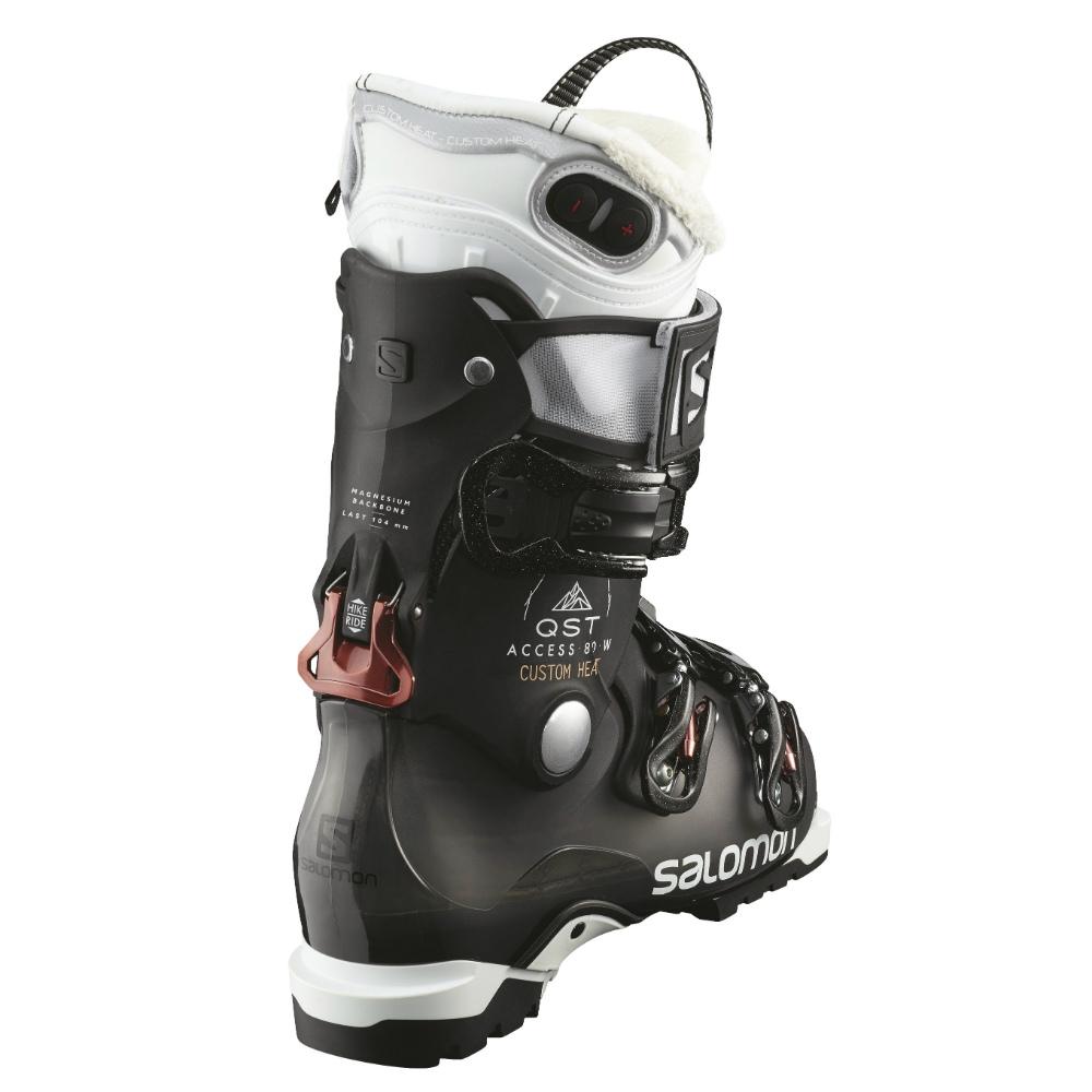 Salomon Access Custom Heat dames skischoenen antraciet