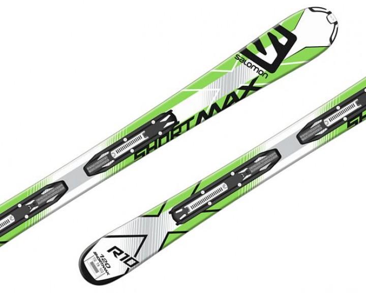 Salomon Beste Test Shortmax 120 short ski wit