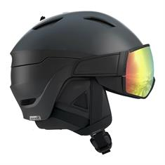 Salomon Driver Photo skihelm sr zwart