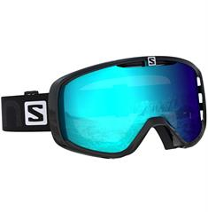 Salomon Goggle Photo XF Black 407 227 skibril zwart