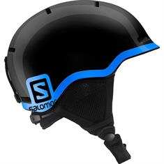 Salomon Grom Black junior helm zwart