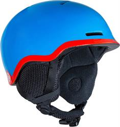 Salomon Grom Blue Red junior helm blauw