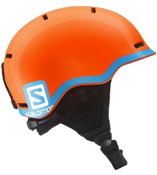 Salomon Grom Fluo OrangeBlue junior helm oranje
