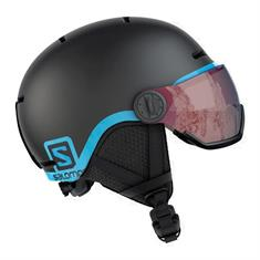Salomon Grom Visor Black 399 163 junior helm zwart