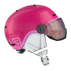 Salomon Grom Visor Pink 399 162 meisjes helm pink
