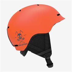 Salomon Helmet Grom junior helm oranje