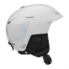 Salomon Icon + Air White 411 577 dames helm wit