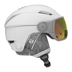 Salomon Icon Visor + Photo Lens 411 675 dames helm wit